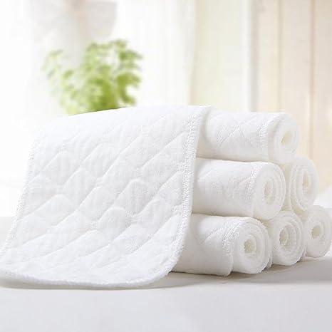 Pañales de algodón suave para bebé, pañales de papel se pueden ...