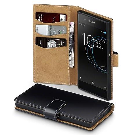 Sony Xperia XA1 Funda Cartera con tapa para billetera y compartimento para dinero, adaptable en