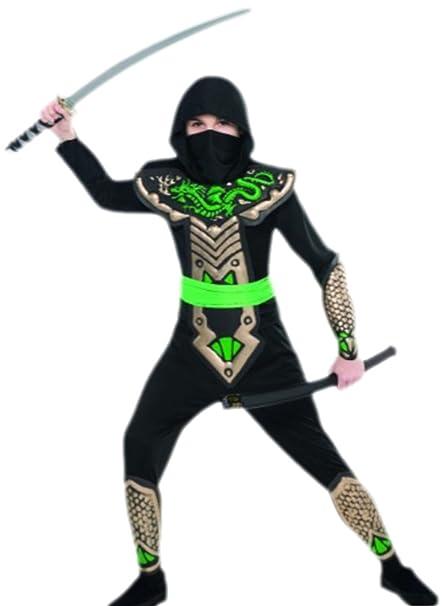 erdbeerloft - joven Dragón Guerrero Ninja Carnaval Disfraz ...