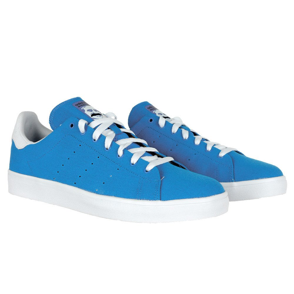size 40 fa9c2 d5230 Adidas Stan Smith Vulc Shoes Blue Bird Running White Blue UK ...