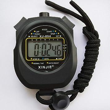 PYXM Cronómetro para Deportes, ABS Pantalla Grande Código de ...