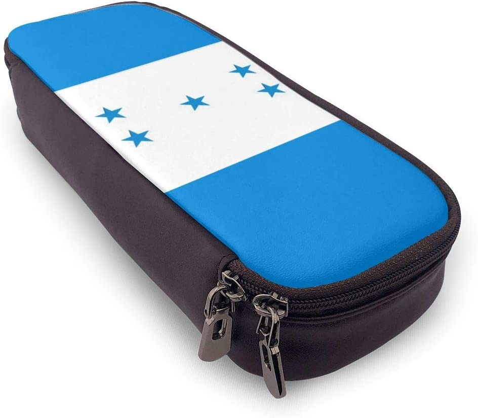 Honduras Resplendent Flag Estuche Case Zipper Bag Stationery Pouch Holder Box Organizer for Middle High School Office College: Amazon.es: Oficina y papelería
