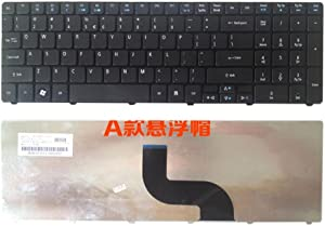 Meijunter Replacement Laptop Keyboard for Acer Aspire 5750G 5759 7560G 7739 7750 MS2277