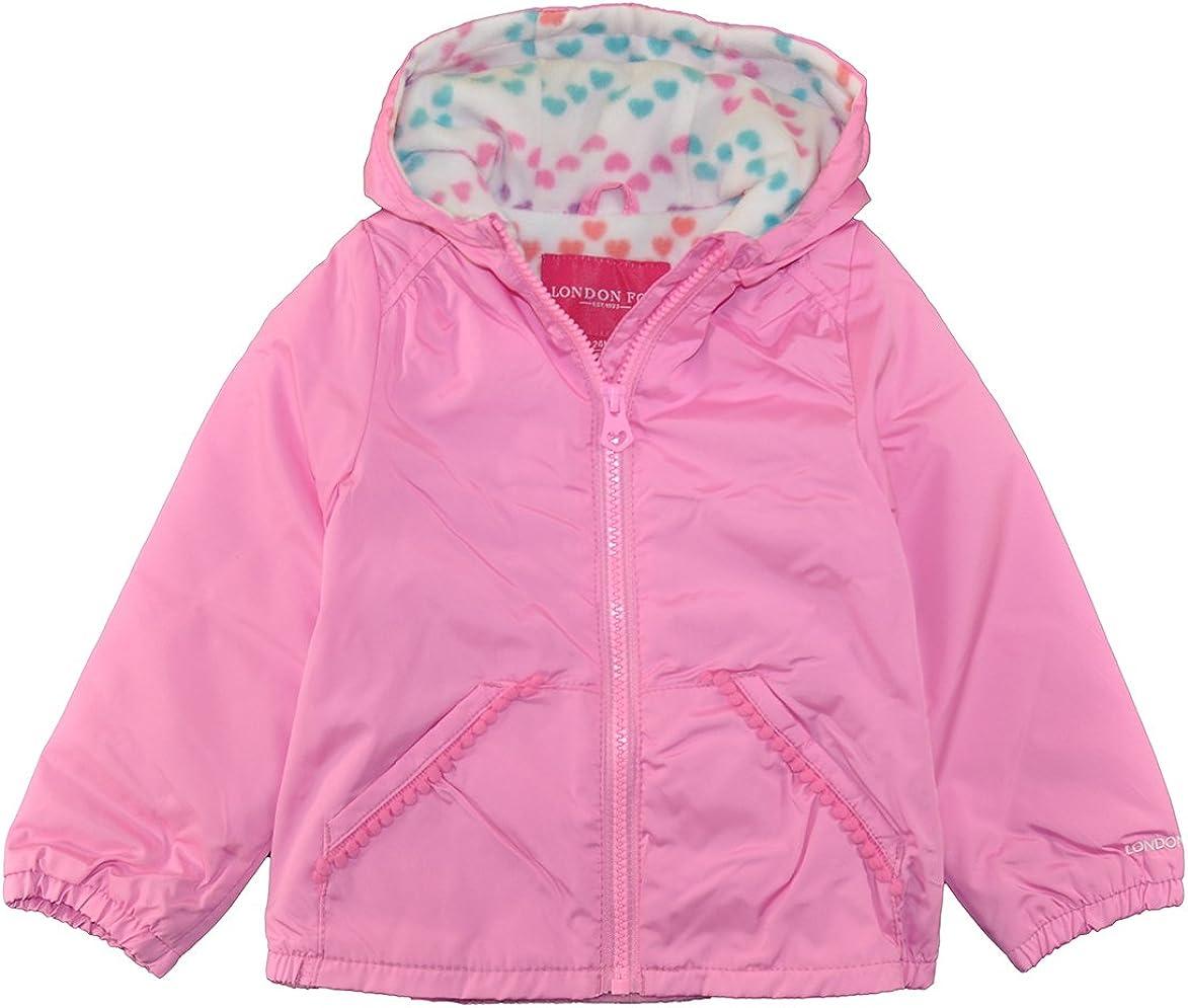 London Fog Baby Girls Perfect Fleece Lined Jacket