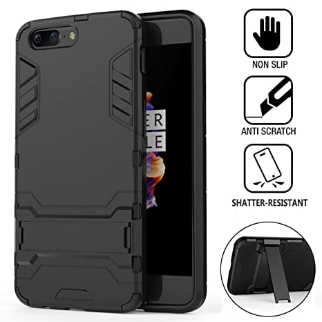 Coque OnePlus 5, Wineecy Shockproof 2 in 1 TPU + PC Armor Full-body ... d5bcd003ca0e