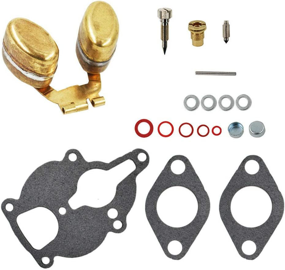 Yomoly LQ39 Carburetor Rebuild Kit w//Float Compatible with Wisconsin Engine AENL VH4D TRA THD AHH TJD TRA12D VHD