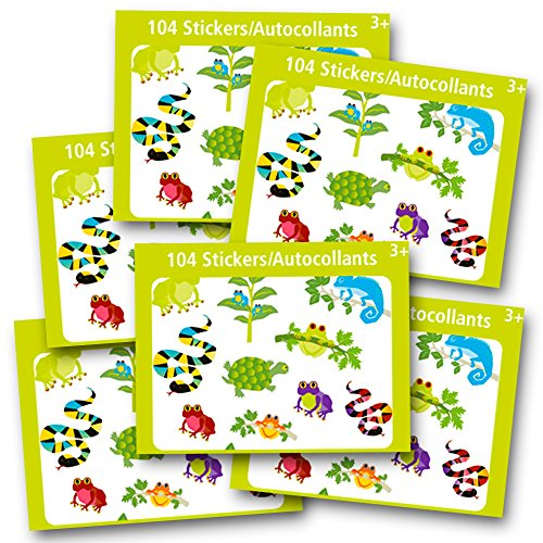 reptile-stickers-party-favors-pack-kids-toddlers-over-600-reptiles-stickers-frogs-snakes-lizards-tur