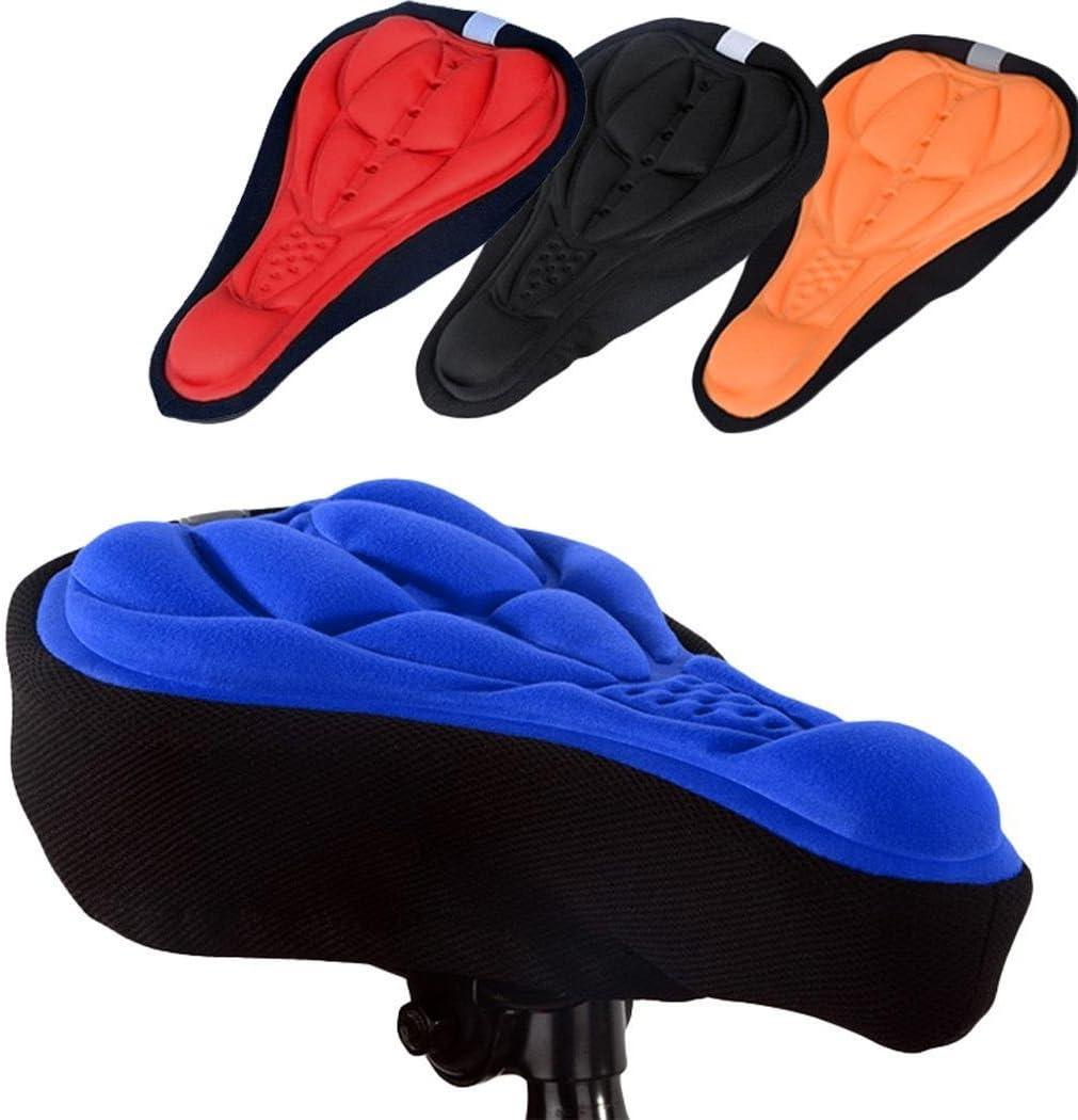Youth ever 3D weiche Sattelauflage Kissen Sitzbezug f/ür Mountainbike Fahrrad Cityrads/ättel