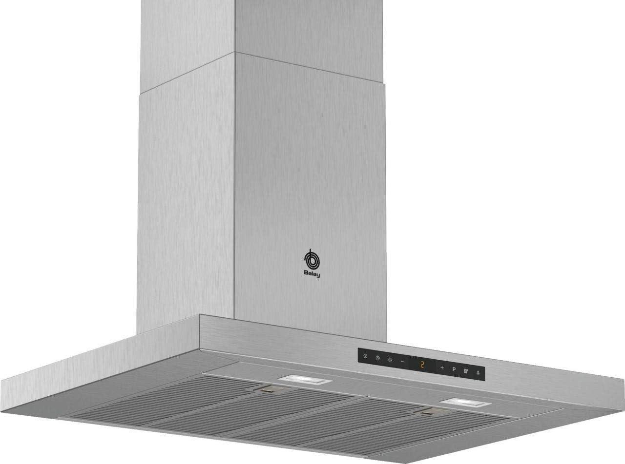 Balay 3BC978HX Campana (Canalizado/Recirculación, 60 dB, 280 m³/h, de pared, Acero inoxidable), 5 Velocidades: 357: Amazon.es: Hogar