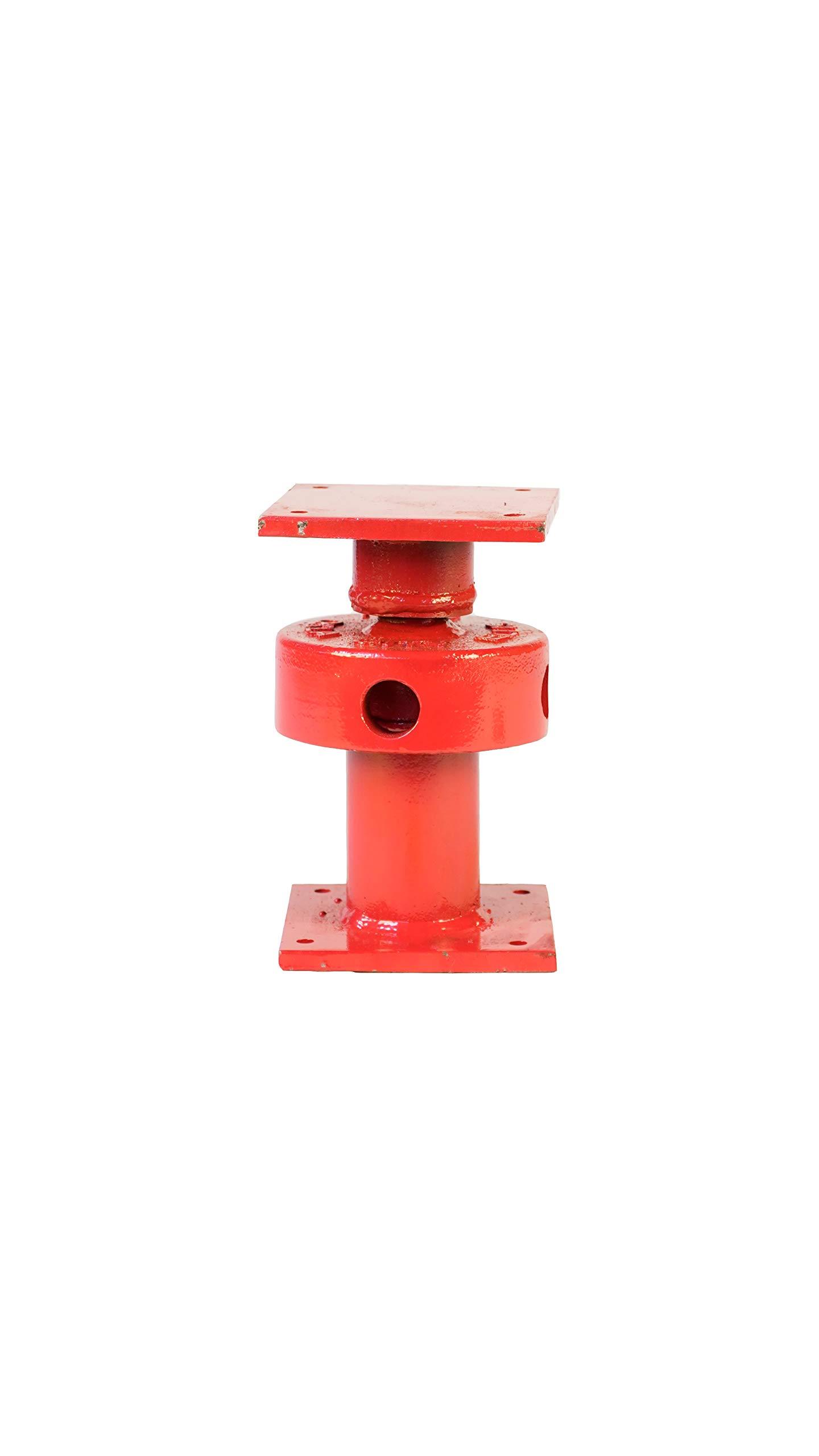 Ellis Manufacturing Company Mini Screw Jack - Adjustable Support Jack - Range of Adjustment 2.5'' - Safe Load Capacity (15,000 lbs) by ELLIS