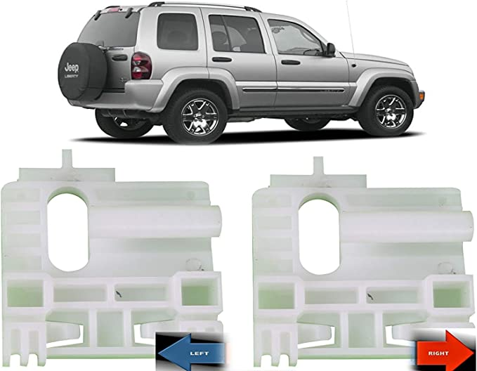 Jeep Liberty 02-06 Window Regulator Repair Kit Clip Rear LEFT fast from Michi