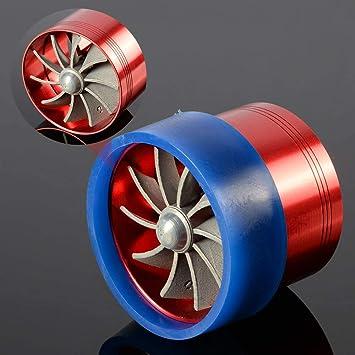 Turbocompresor de turbina Doble Turbo Cargador Ventilador de Ahorro de Combustible de Entrada de Aire por diámetro de la Manguera de admisión de Aire: ...