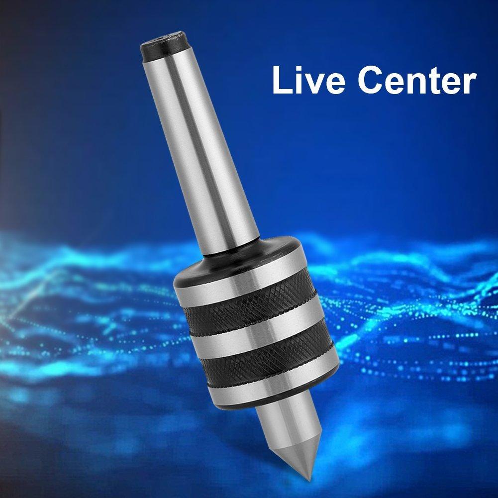 MT2 Live Center Piezas de Torneado Medio de Alta Precisi/ón para Piezas de M/áquina de Cabezal M/óvil de Torno Socialme-EU