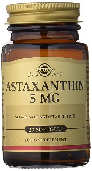 Solgar Astaxantina 5 mg Cápsulas blandas - Envase de 30