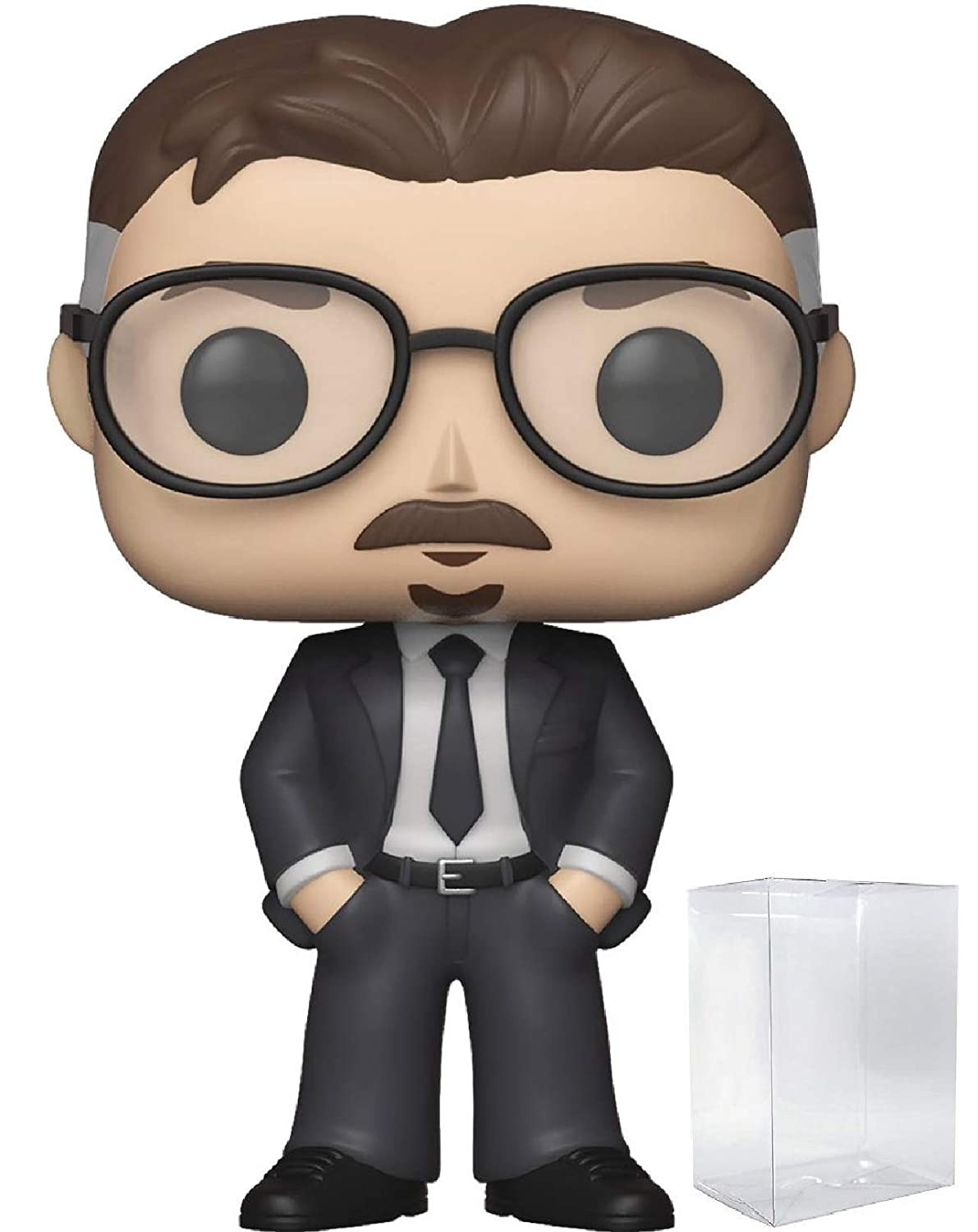 Vinyl Figure Funko Directors Vince Gilligan Pop Includes Compatible Pop Box Protector Case