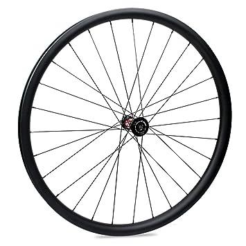 Yuanan 29er - Rueda de Carbono con buje DT 240 MTB para Bicicleta de montaña XC Cross Country (33 mm de Ancho): Amazon.es: Deportes y aire libre