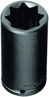 "product image for Stanley Proto J7318S 1/2"" Drive Deep Impact Socket, 9/16"", 8 Point"