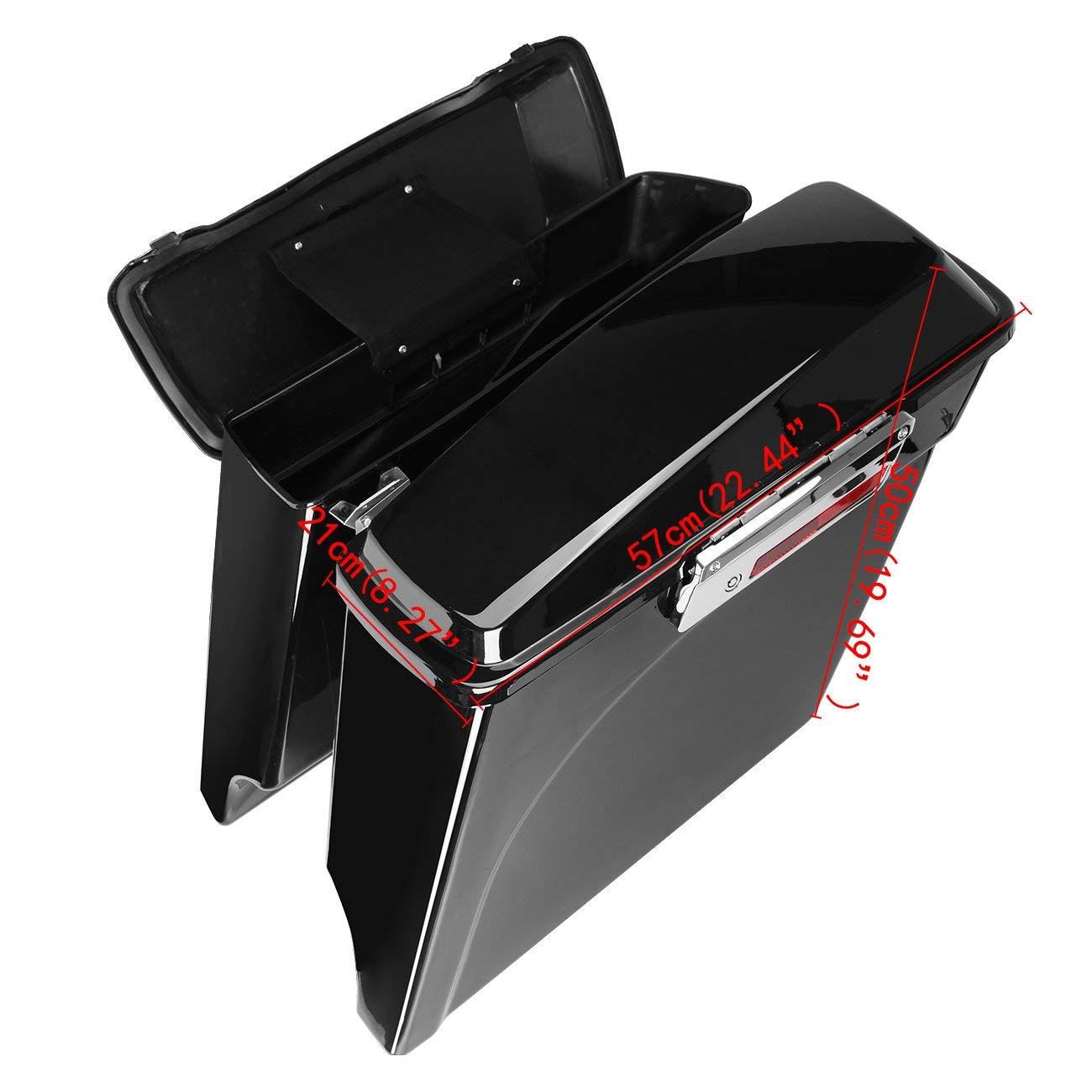 Alforjas extendidas para Harley 1993-2013