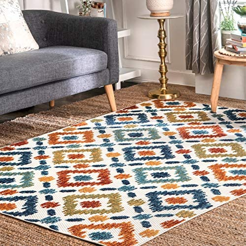 nuLOOM Labyrinth Transitional Indoor/Outdoor Area Rug