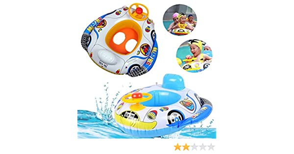 Amazon.com: [Free Shipping] Kids Baby Inflatable Pool Seat Float ...