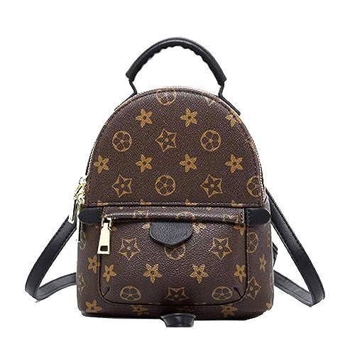 50d1707c505 Gerosse Designer Mini Leather Backpack Purse for Women