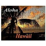 CafePress - Sunset North Shore Oahu - Jigsaw Puzzle, 30 pcs.