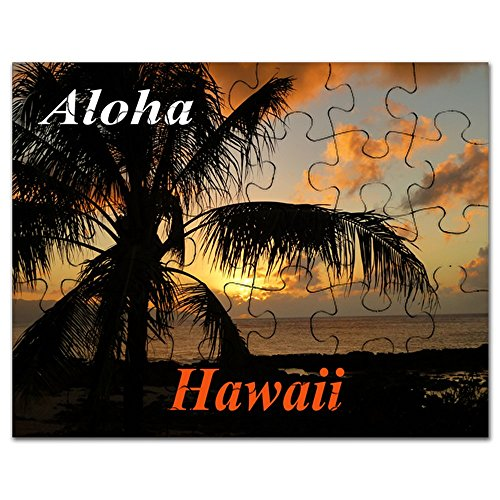 - CafePress - Sunset North Shore Oahu - Jigsaw Puzzle, 30 pcs.