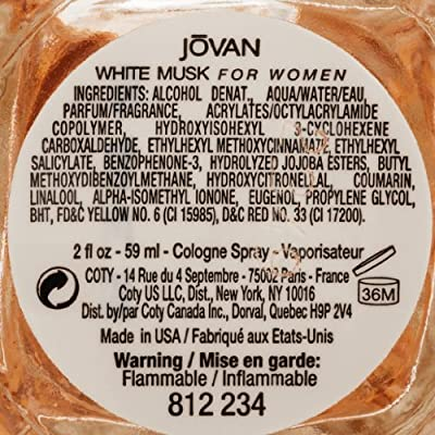 Jovan White Musk for Women