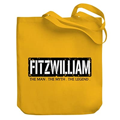 50%OFF Teeburon Fitzwilliam THE MAN THE MYTH THE LEGEND Canvas Tote Bag