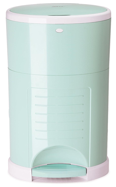 Amazon.com : dekor plus hands free diaper pail, soft mint : baby