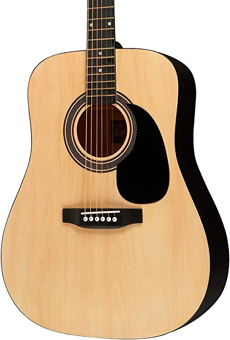 Rogue ra-090 Dreadnought Guitarra Acústica Natural: Amazon.es ...