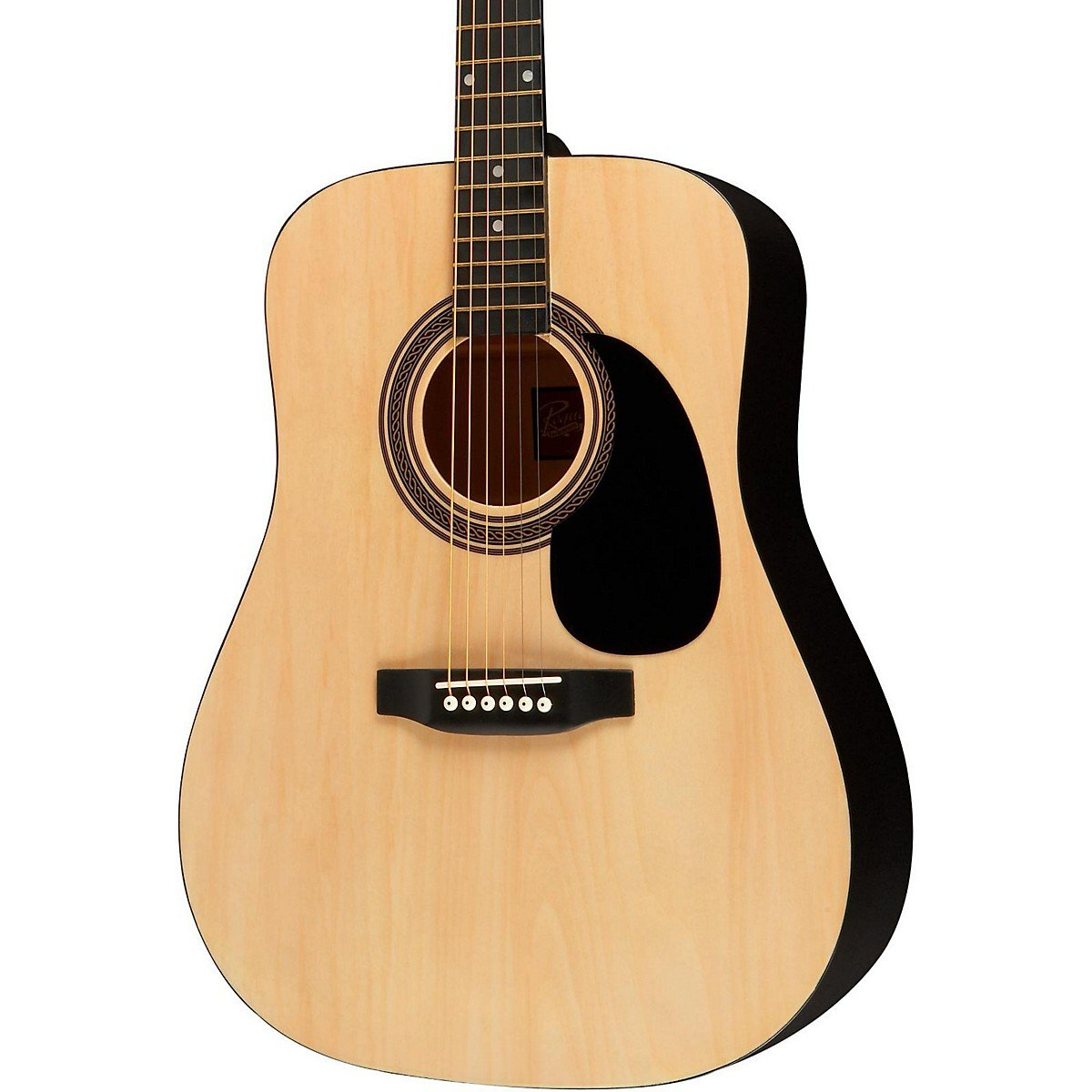 Rogue RA-090 Dreadnought Acoustic Guitar Natural by Rogue
