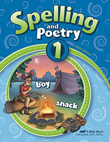 Abeka Spelling and Poetry 1, used for sale  Delivered anywhere in USA