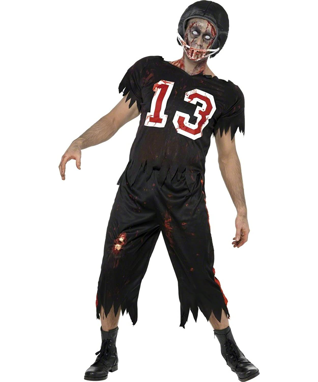 American Footballer Zombie Costume · Zombie Cheerleader Costume  sc 1 st  Best Costumes for Halloween & Couples Costumes- Zombie Halloween