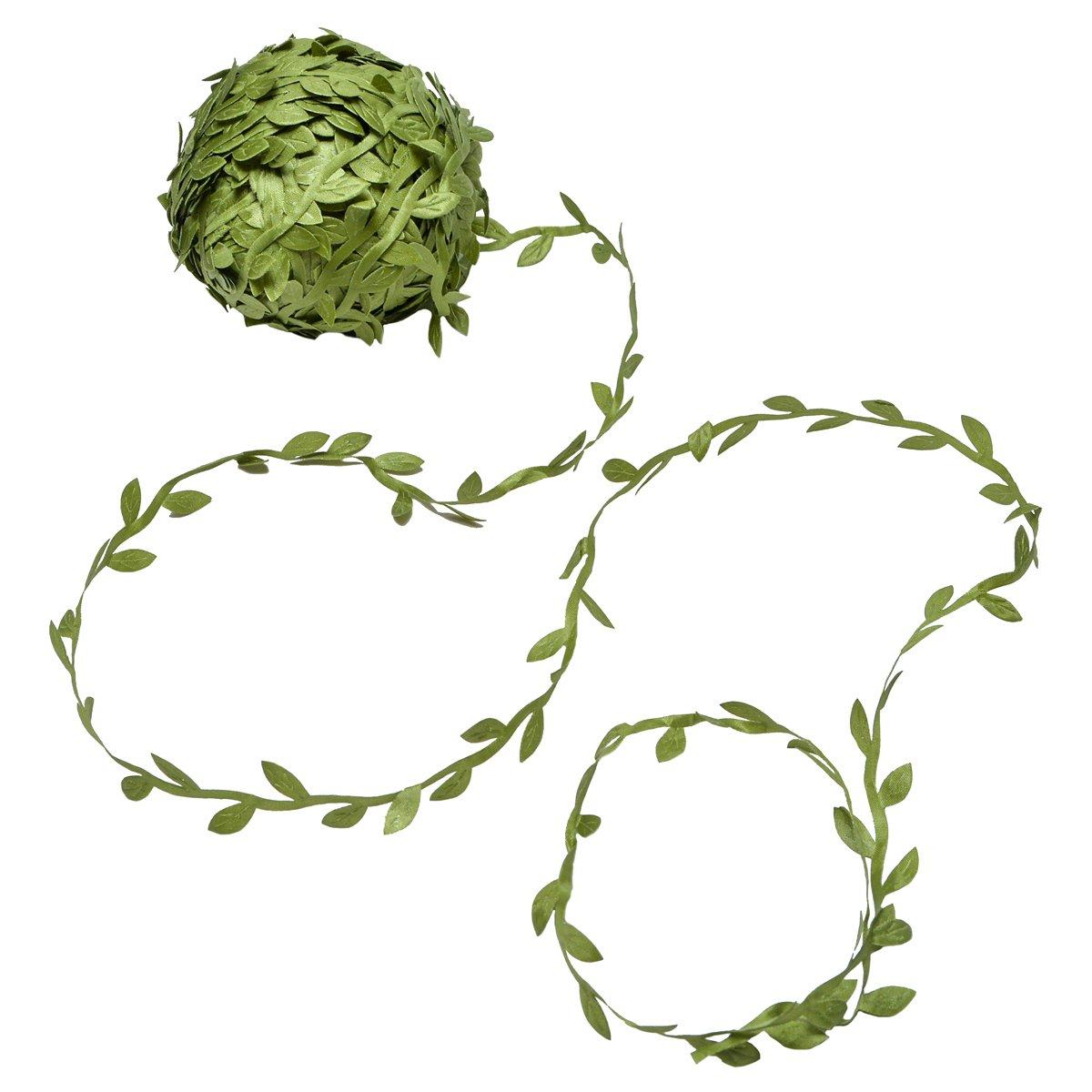 Yolito 77m piante artificiali viti oliva foglia Garland di edera verde a parete per matrimonio giardino casa muro decorazione