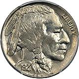 1927 D Buffalo Nickels Nickel MS64 PCGS+\CAC