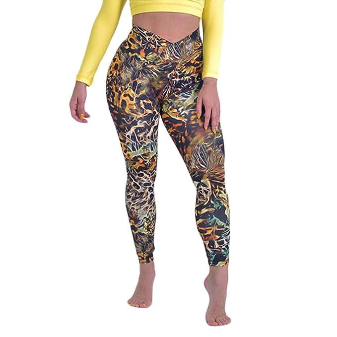 cinnamou Pantalones Deportivos Mujer Yoga Ropa Deportiva para ...
