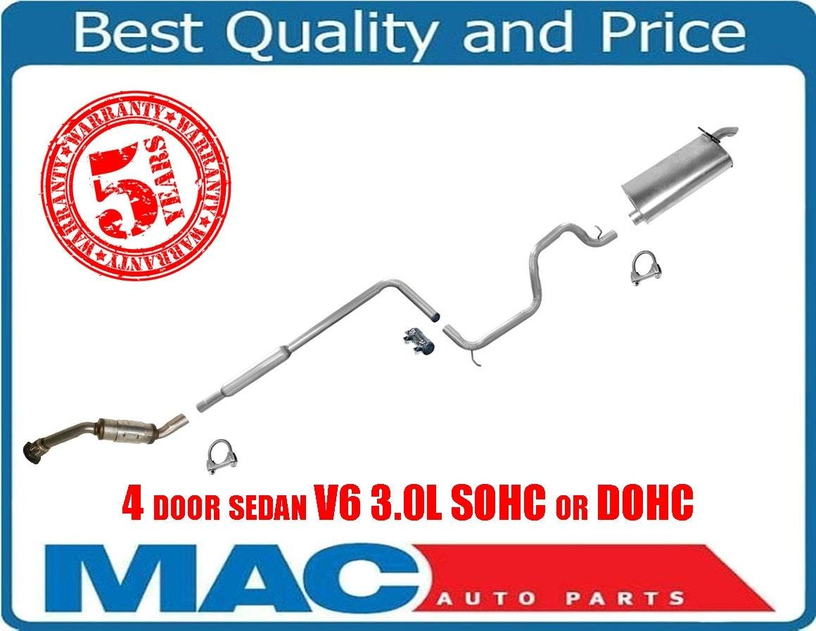 Taurus 00-07 Sable 00-05 4 Door Sedan V6 3.0L SOHC or DOHC Exhaust System