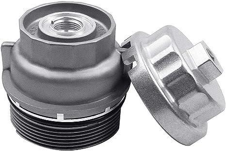 Amazon.com: Ibetter Tapa de filtro de aceite y llave para ...