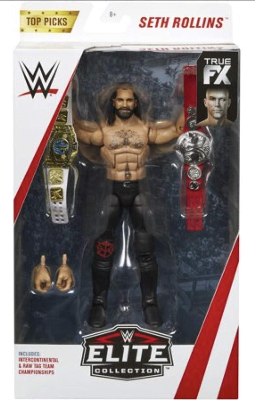 WWE Top Picks Elite Collection Braun Strowman 15cm Action Figure 2019 Mattel NEW