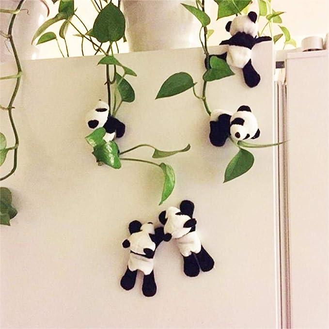 Biuday 1PC Autocollants magn/étiques de r/éfrig/érateur de Forme de Panda Mignon Autocollants de d/écoration /à la Maison Kits dinstallation