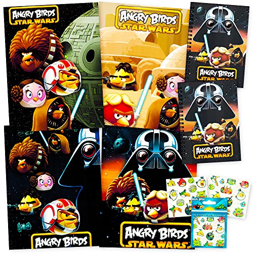 Angry Birds Supplies Notebooks Stickers