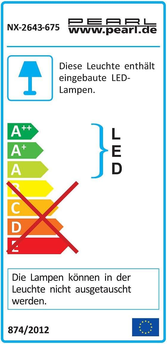 10W IP65 2700K PEARL Flutlichtstrahler: Wetterfester LED-COB-Fluter Metallgeh/äuse Au/ßen-Fluter