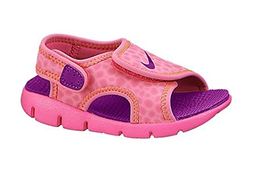 f0924a97b2ac Nike Toddler Girls  Sunray Adjust 4 Sandals  386521-700 (9c)  Amazon ...