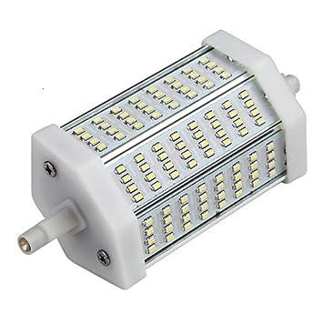 Ecloud Shop R7s 118mm 96 3014 SMD LED Bombilla Iluminación Blanco 11W: Amazon.es: Electrónica