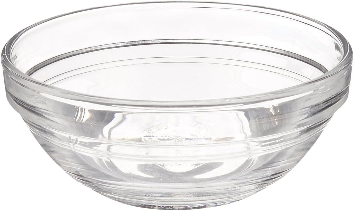 Duralex LYS 9 cm Stacking Bowl, Pack of 6