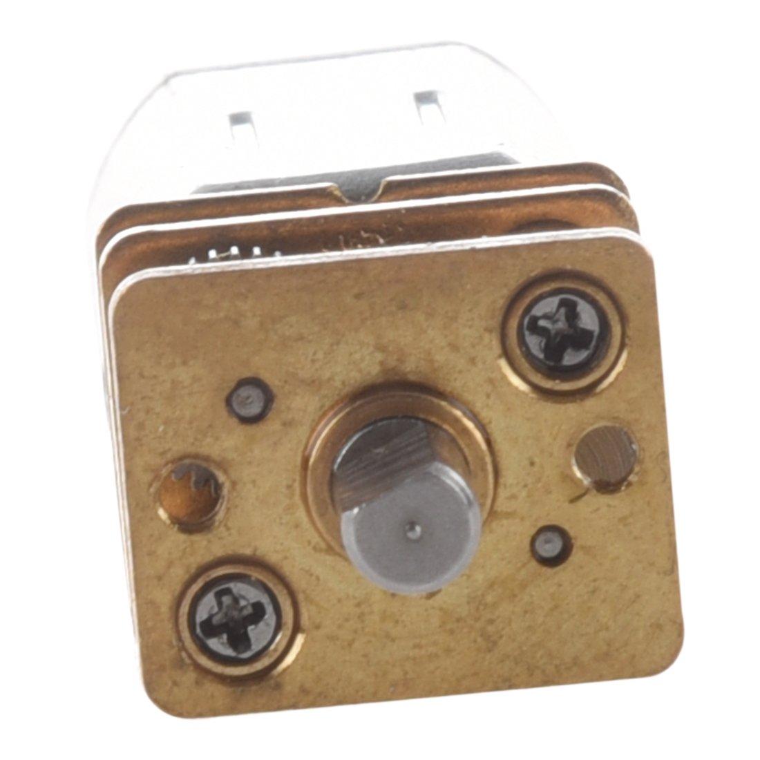 SODIAL R 3-6V DC Motor de transmision de velocidad del reductor de par de eje corto