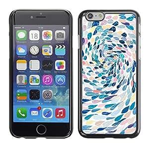 Cubierta de la caja de protección la piel dura para el Apple iPhone 6PLUS (5.5) - swimming abstract art metaphor