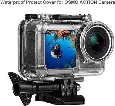 Para DJI Osmo Cámara De Acción Vidrio Templado Protector de Pantalla LCD Cover Kit 3 un.