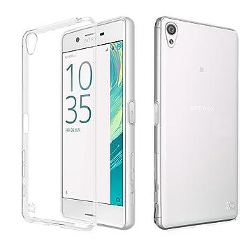 Sony Xperia X Funda, KingShark Slim Fit Sony Xperia X Funda Carcasa Case Bumper con Absorción de Impactos y Anti-Arañazos Espalda Case Cover para Sony ...
